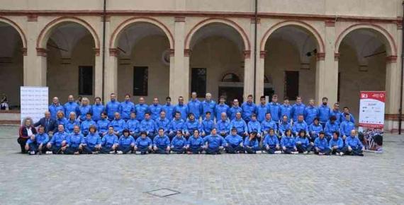 Il Team Azzurri che affronterà i prossimi Giochi Europei