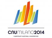 Il logo dei Campionati Nazionali Universitari del 2014