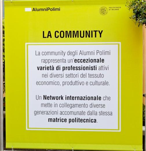 La convention Alumni Polimi