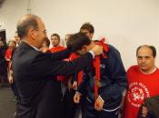 In campo con i ragazzi Special Olympics e l' EA7 Olimpia Milano