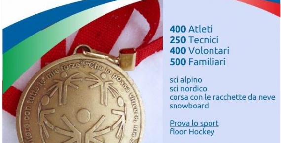 I giochi invernali Special Olympics