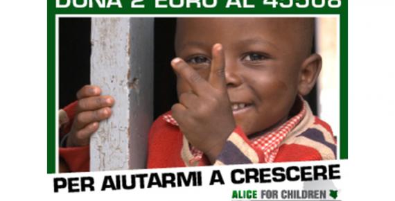La nuova campagna Alice 4 Children