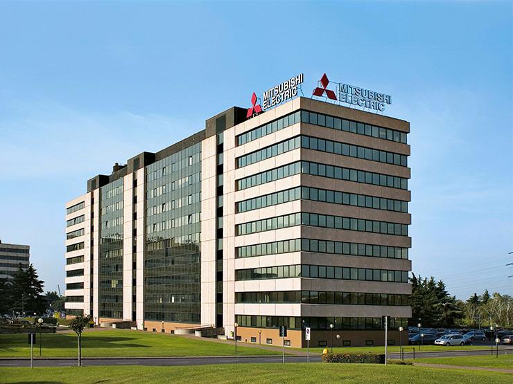 La sede di Mitsubishi Electric ad Agrate Brianza (Mi)