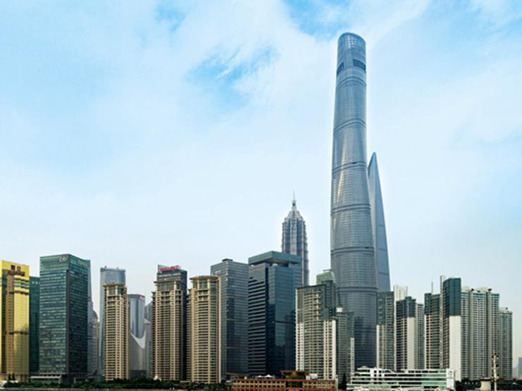 Shangai Tower Skyline