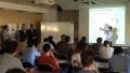 Studenti a lezione da Mitsubishi Electric