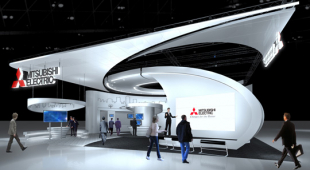 Lo stand Mitsubishi Electric a Ceatec Japan 2016