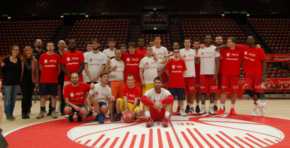 European Basketball Week special olympics