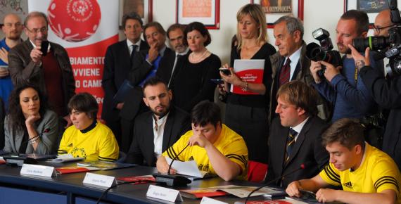 Conferenza stampa di presentazione dei dei Giochi Nazionali Estivi Special Olympics 2017 – La testimonianza degli Atleti