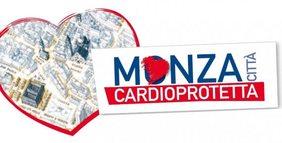 Logo progetto Monza Città Cardioprotetta