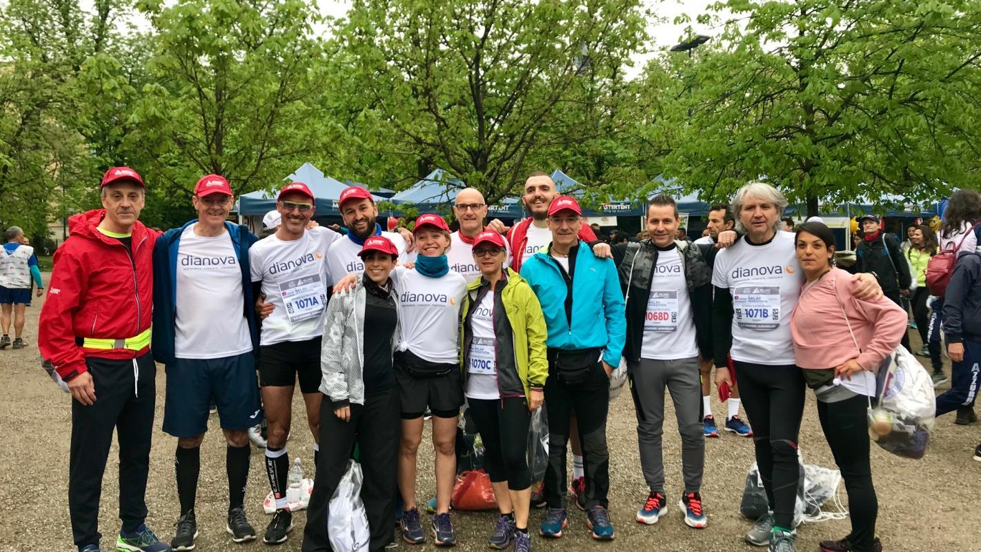 Mitsubishi Electric e Dianova corrono insieme nella Milano Marathon