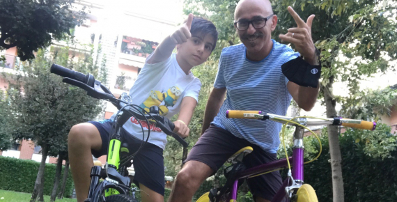 AISM SOCIAL RIDE: to fight multiple sclerosis we should use all means