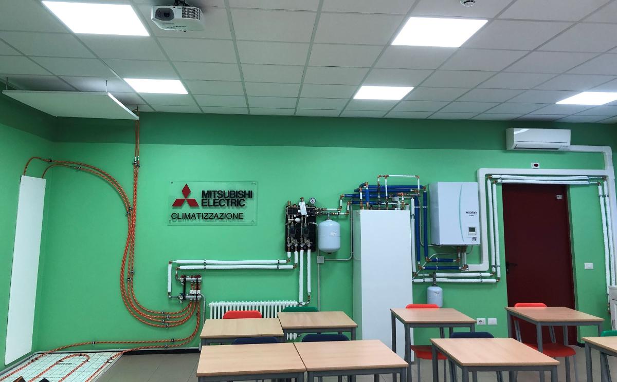 Inaugurato il nuovo Laboratorio di Climatizzazione