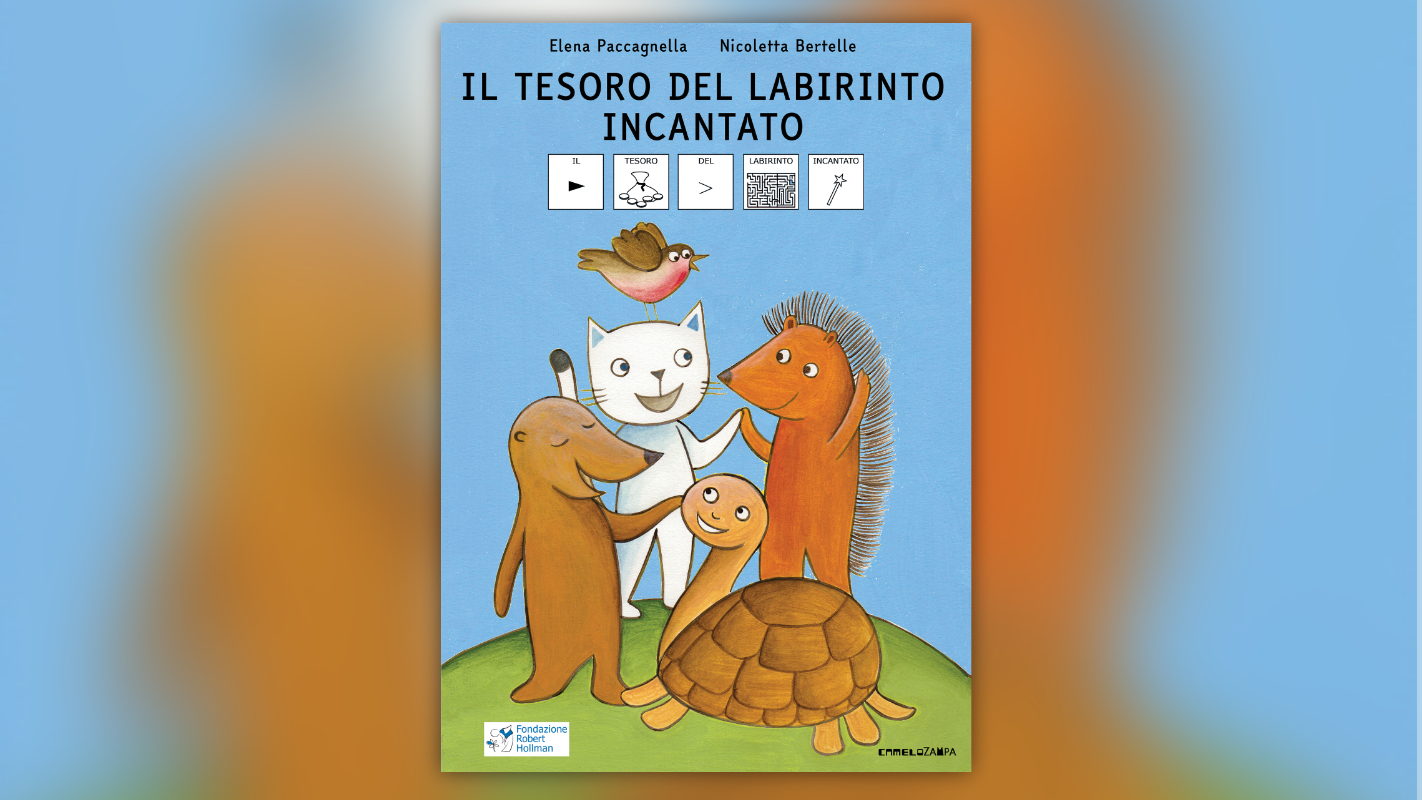 """Mitsubishi Electric supports the first re-print of the high accessibility book project """"the treasure of the enchanted maze"""""""